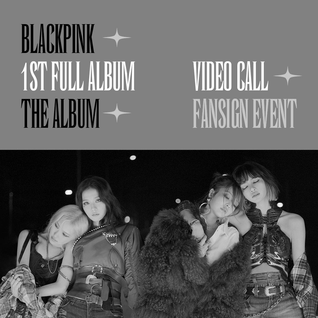 BLACKPINK 1ST FULL ALBUM [THE ALBUM] VIDEO CALL FANSIGN EVENT2020 ...